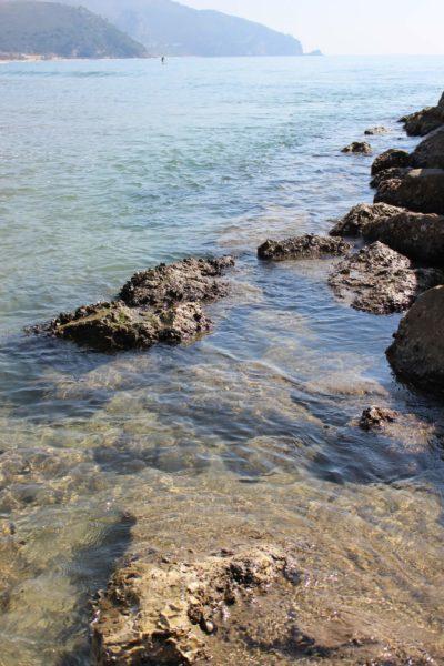 スペルロンガの海の透明度