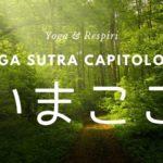 呼吸の効果とその意味・ヨガスートラ 1章1部